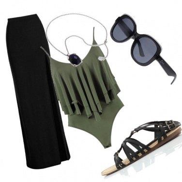 Outfit Aperitiveggiando in spiaggia