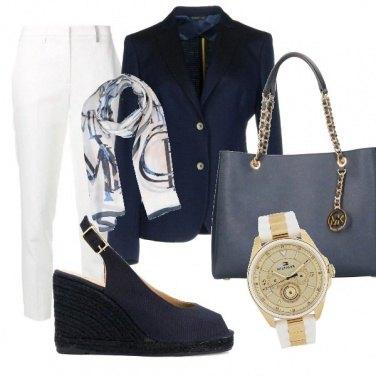 Outfit Blu intenso