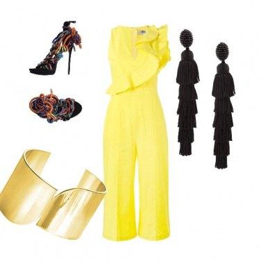 Outfit La tuta lemon