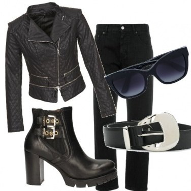 Outfit Grinta con classe