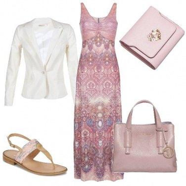 Outfit La giacca di lino e il portafoglio