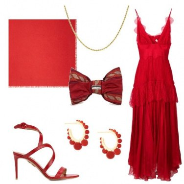 Outfit Rosso Cannes