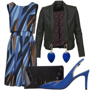 Outfit Quel tocco d\'azzurro e blu