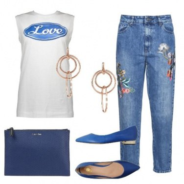 Outfit Blu love