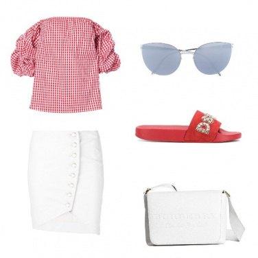 Outfit Le ciabatte rosse