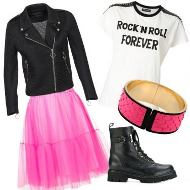 Outfit Punk chic