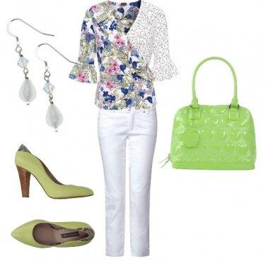 Outfit Verde come un prato