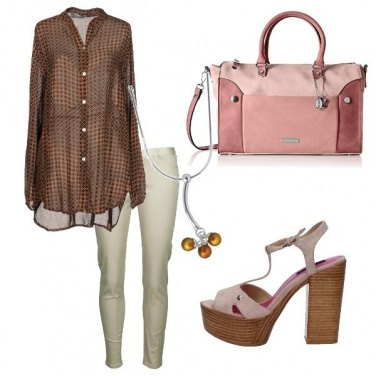 Outfit La casacca in voile