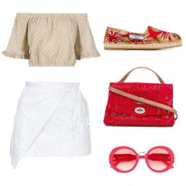 Outfit Gli occhiali rossi