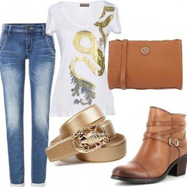 Outfit La cintura d'oro