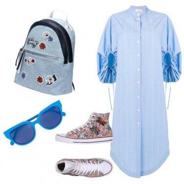 Outfit Le converse stanno bene con tutto