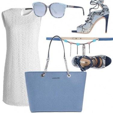 Outfit Estate in azzurro