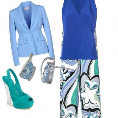 Outfit Verde glam