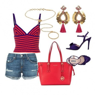 Outfit Purple tone