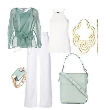 Outfit Verde tenue