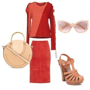 Outfit Autumn Ton sur Ton