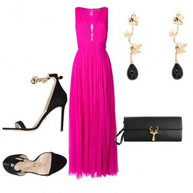 Outfit Chic in Fucsia