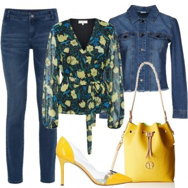 Outfit Giallo primaverile