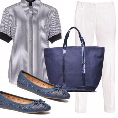 Outfit Ballerine blu