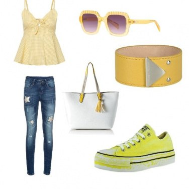 Outfit Fun Yellow