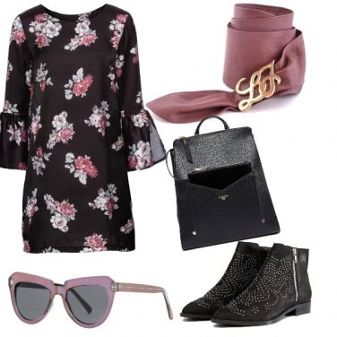 Outfit Cintura rosa Liu