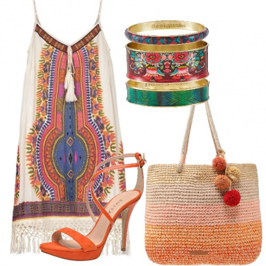 Outfit Gipsy multicolor