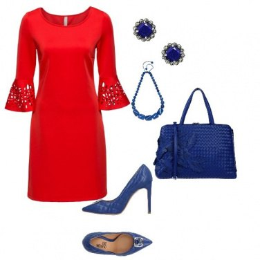 Outfit Red&Blue