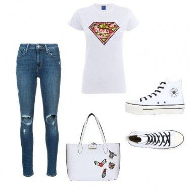 Outfit Un po di bianco