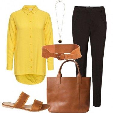 Outfit La camicia solare
