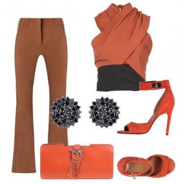 Outfit Arancio caldo
