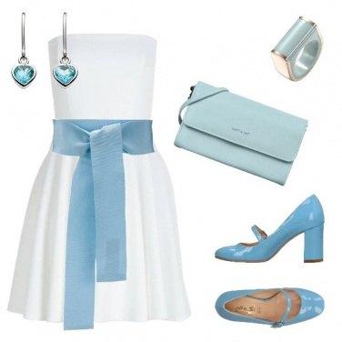 Outfit Il fiocco azzurro
