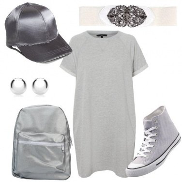 Outfit Ragazza d\'argento