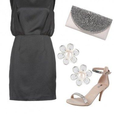 Outfit Dettagli rosa e silver