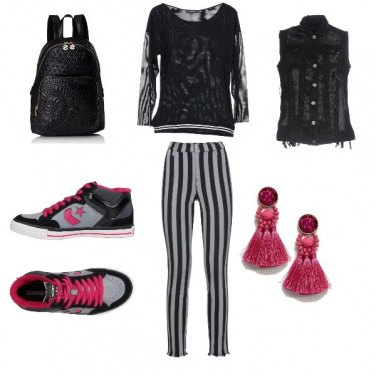 Outfit Converse mon amour