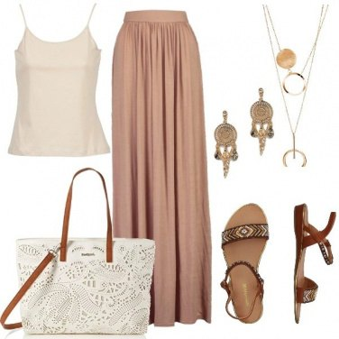 Outfit Maxi skirt