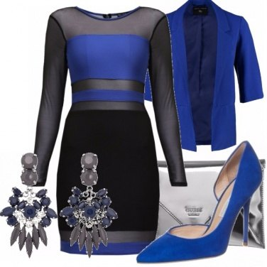 Outfit Blue Nude