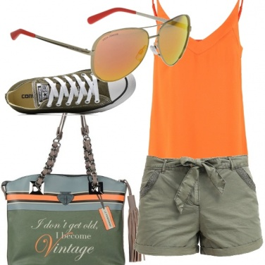 Outfit In città in agosto