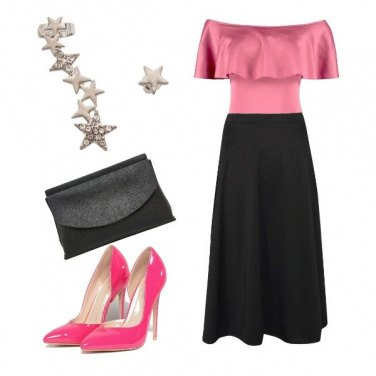Outfit Pink&black