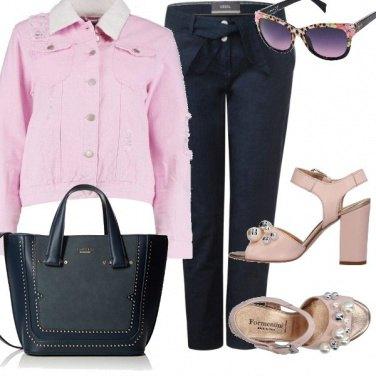 Outfit Denim rosa