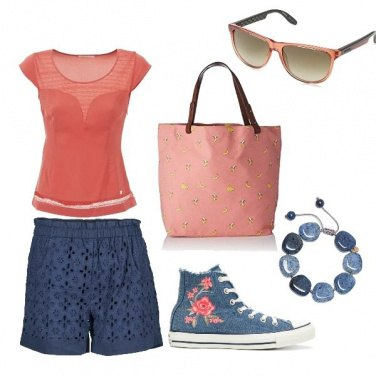 Outfit Converse girl