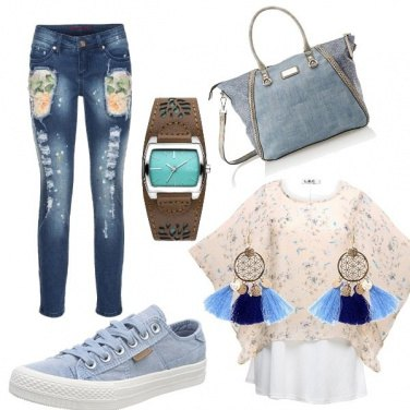Outfit Bella nei miei jeans