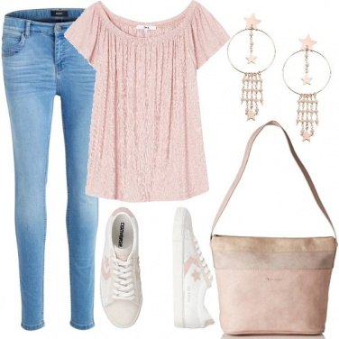 Outfit Romantic Converse