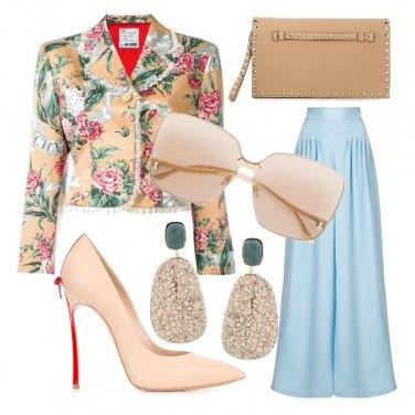 Outfit Primavera in toni pastello
