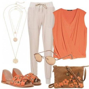 Outfit Arancio soft