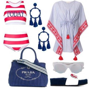 Outfit La borsa blu