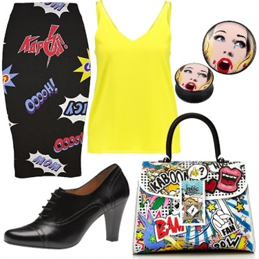 Outfit Pop art
