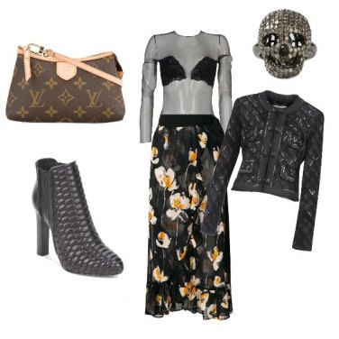 Outfit Rock in stile