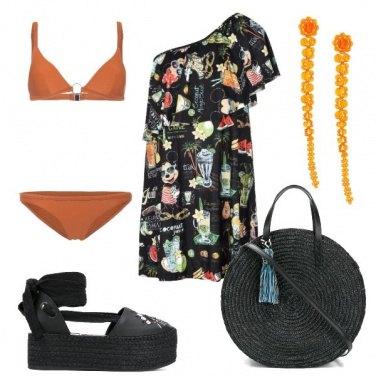 Outfit Il bikini arancione