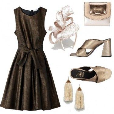 Outfit Matrimonio in bronzo