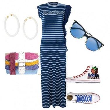 Outfit Sbarazzina con le converse